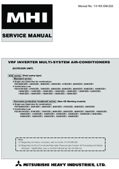 mitsubishi city multi puhy service manual