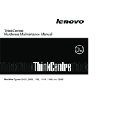 Lenovo ThinkCentre 1165 Manuals