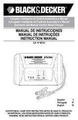 Black & Decker BC25 Instruction Manual