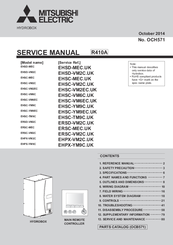 Mitsubishi Electric EHPX-YM9C.UK Service Manual