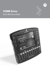 Motorola VC6090 Quick Reference Manual