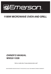 emerson mwg9115sl owner's manual