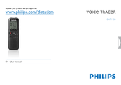 Philips Voice Tracer DVT1100 User Manual