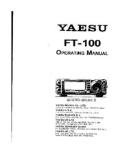 yaesu ft 100 manuals rh manualslib com User Guide Icon User Guide Icon