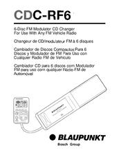 blaupunkt cdc rf6 manuals rh manualslib com Blaupunkt Car DVD Player Blaupunkt Car DVD Player