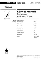 Extreem WHIRLPOOL ADP 6940 WHM SERVICE MANUAL Pdf Download. AP42