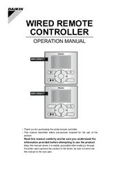 Daikin BRC2E52C7 Manuals
