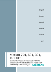 Siemens Motion 301 BTE User Manual