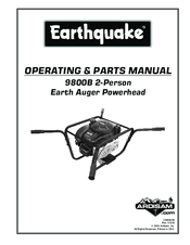 earthquake 9800b operating parts manual pdf download rh manualslib com Jiffy Ice Auger Model 30 Parts Tecumseh Auger TC 2