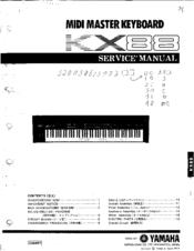 yamaha kx88 service manual pdf download rh manualslib com Manual Book Maintenance Manual