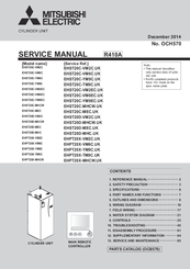 Mitsubishi Electric EHST20C-TM9C.UK Service Manual