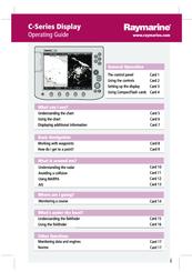 raymarine c140 user manual