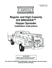 manuals and user guides for western ice breaker hopper spreader  we have 1 western  ice breaker hopper spreader manual available for free pdf download: