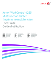 Xerox WorkCentre 4265 Manuals