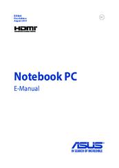 asus x205t manuals rh manualslib com asus laptop manual pdf asus laptop manual reset