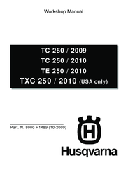 Husqvarna TC 250 2010 Workshop Manual