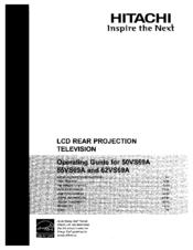 hitachi 55vs69a manuals rh manualslib com Hitachi 57F500 Manual Service Hitachi Manuals Television