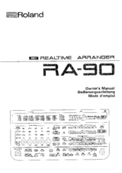 roland ra 90 manuals rh manualslib com roland ra-90 user manual Rogue RA -090 Review