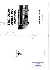 yaesu frg 9600 manuals rh manualslib com Instruction Manual Example New Balance Manuals