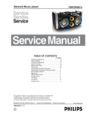 Philips DVP3568X/94 Service Manual