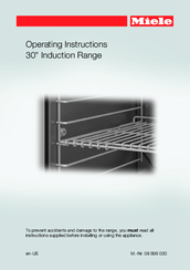 Miele HR 1622 Operating Instructions Manual