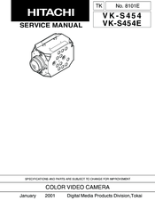 Hitachi VK-S454 Service Manual