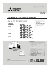 mitsubishi mr slim remote control instructions