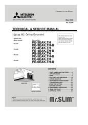 mitsubishi electric mr.slim pe-4eak manuals schematics mitsubishi mr slim #11