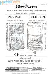 Glow-worm FIREBLAZE 37 315 14 Manuals