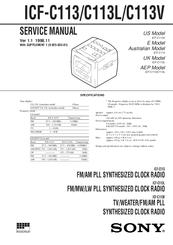 sony dream machine icf c113l manuals rh manualslib com sony dream machine user manual icf c218 sony dream machine manual icf-c318