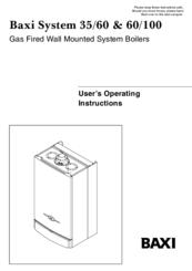 baxi 60 100 manuals rh manualslib com baxi boiler manuals pdf baxi boilers manuals duo tec