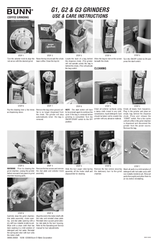 bunn g3 manuals. Black Bedroom Furniture Sets. Home Design Ideas