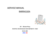 NEC Barracuda Service Manual