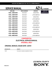 sony kv 27fs12 trinitron color tv service manual download