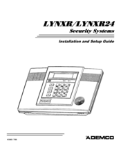 ademco lynxr manuals rh manualslib com Ademco Alarm Systems Ademco Security System Manual