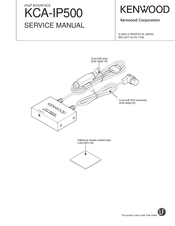 Kenwood KCA-IP500 Service Manual