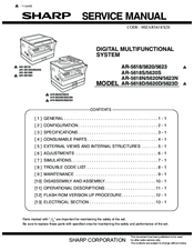 sharp ar 5623n manuals rh manualslib com NexusLink 5631 Manual Eastwood 5631