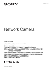 Sony SNC-VB635 User Manual
