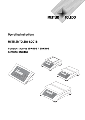 Mettler Toledo Ind469 Manuals Manualslib