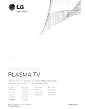 lg 50pv450 manuals rh manualslib com manual plasma lg 50pa4500 manual de servicio tv plasma lg
