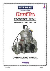 iame parilla reedster 125cc manuals rh manualslib com Subaru Engine Overhaul Banshee Engine Overhaul