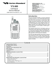 vertex standard vx 800 manuals rh manualslib com Vertex Standard Dealer Standard Two-Way Radios