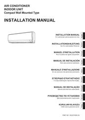 fujitsu asyg12leca manuals rh manualslib com fujitsu air conditioner installation manual fujitsu halcyon air conditioner user manual