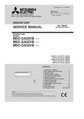 Mitsubishi Electric Msc Ga35vb Manuals