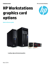 HP Intel HD Graphics 2500 Quick Reference Manual