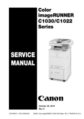 CANON COLOR IMAGERUNNER C1030 TREIBER WINDOWS XP