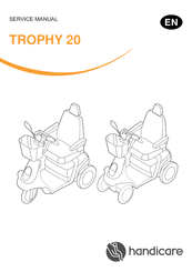 Handicare TROPHY 20 Manuals on
