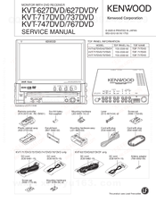 Installation procedure/accessories, accessories 1 2 3 4 | kenwood.