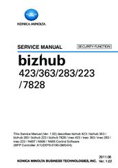 konica minolta bizhub 423 manuals rh manualslib com konica minolta bizhub 423 service manual free download Bizhub Minolta Konica C284w