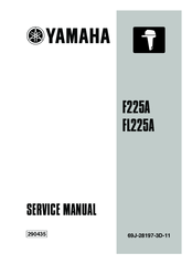 YAMAHA F225A SERVICE MANUAL Pdf Download